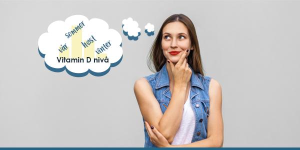 Holder D-vitaminlageret ditt frem til sommeren?