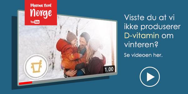 Visste du at vi ikke produserer vitamin D om vinteren i Norge?